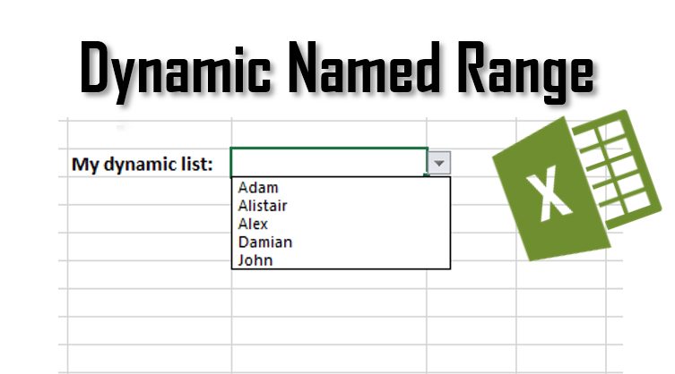 excel dynamic named range