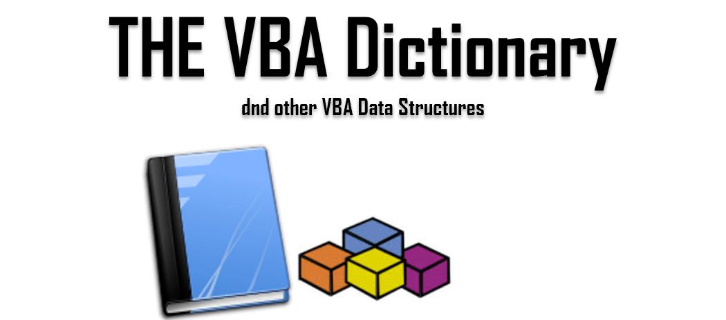 VBA Dictionary