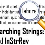 VBA Searching strings using InStr and InStrRev