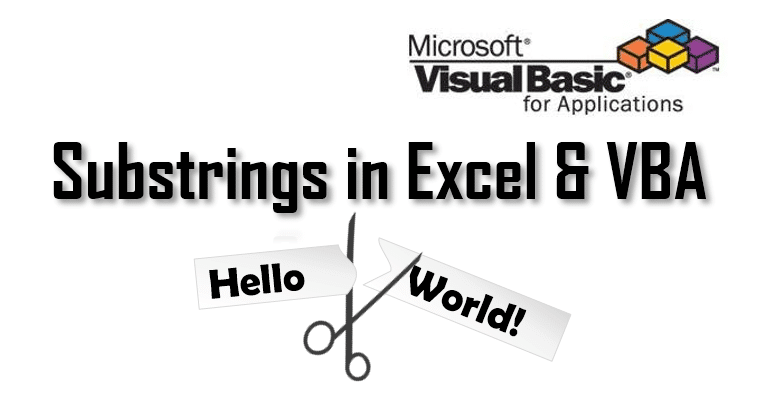 excel substrings