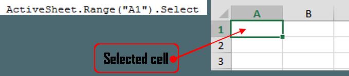 range select cell