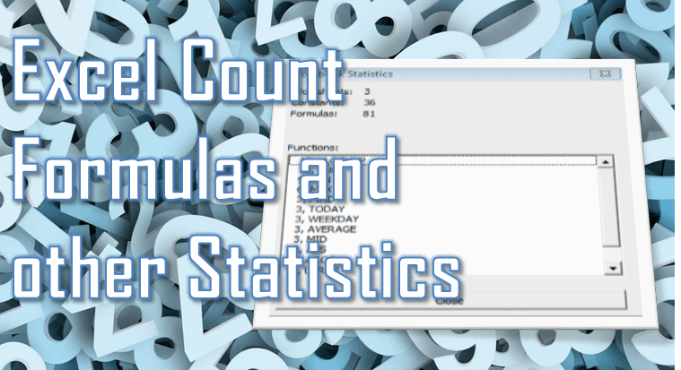 Excel Count Cells with Text and Formula - Excel Stats