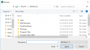 VBA File Dialog