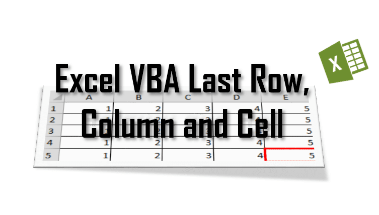 vba last row featured