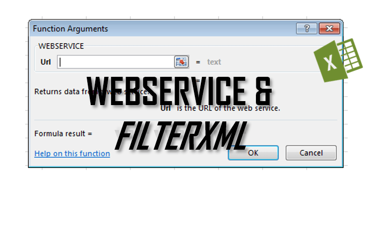 Excel WEBSERVICE and FILTERXML functions explained