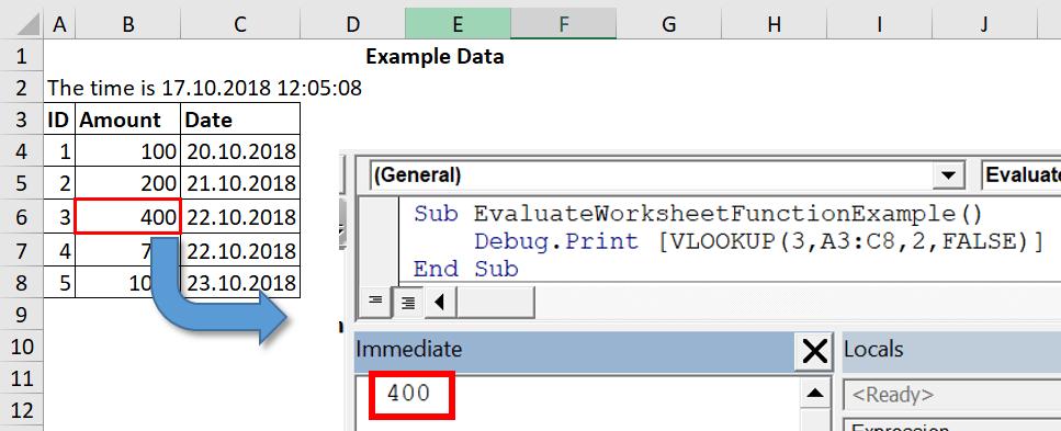 VBA Trick VBA Evaluate Worksheet Function