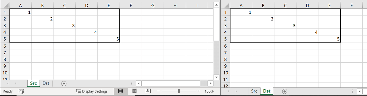 VBA Copy example - After